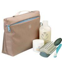 kosmetyczka podróżna, kosmetyczka do walizki, kosmetyczka do samolotu, organizer podróżny