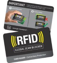 etui na karty płatnicze, etui na karty, etui na karty kredytowe, ochrona RFID, portfel RFID